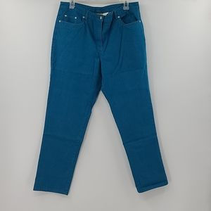 Ruby rd teal jeans. Womens size 14 petite